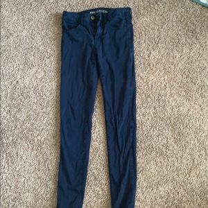 Blue American eagle pants